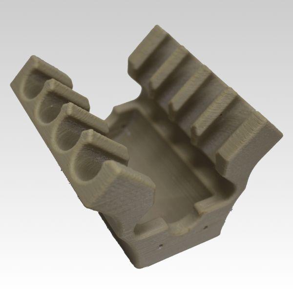 3Dプリンター造形出力サービスFDM方式(熱溶解積層法)スーパーエンプラサンプル作品NO.1