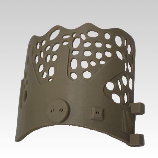 3Dプリンター造形出力サービスFDM方式(熱溶解積層法)スーパーエンプラサンプル作品NO.3