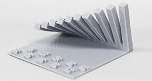 造形精度の細かさが今までの3Dプリンターと違う